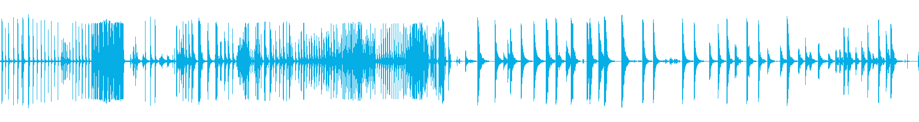 ベルテンプルリング複数Cの再生済みの波形