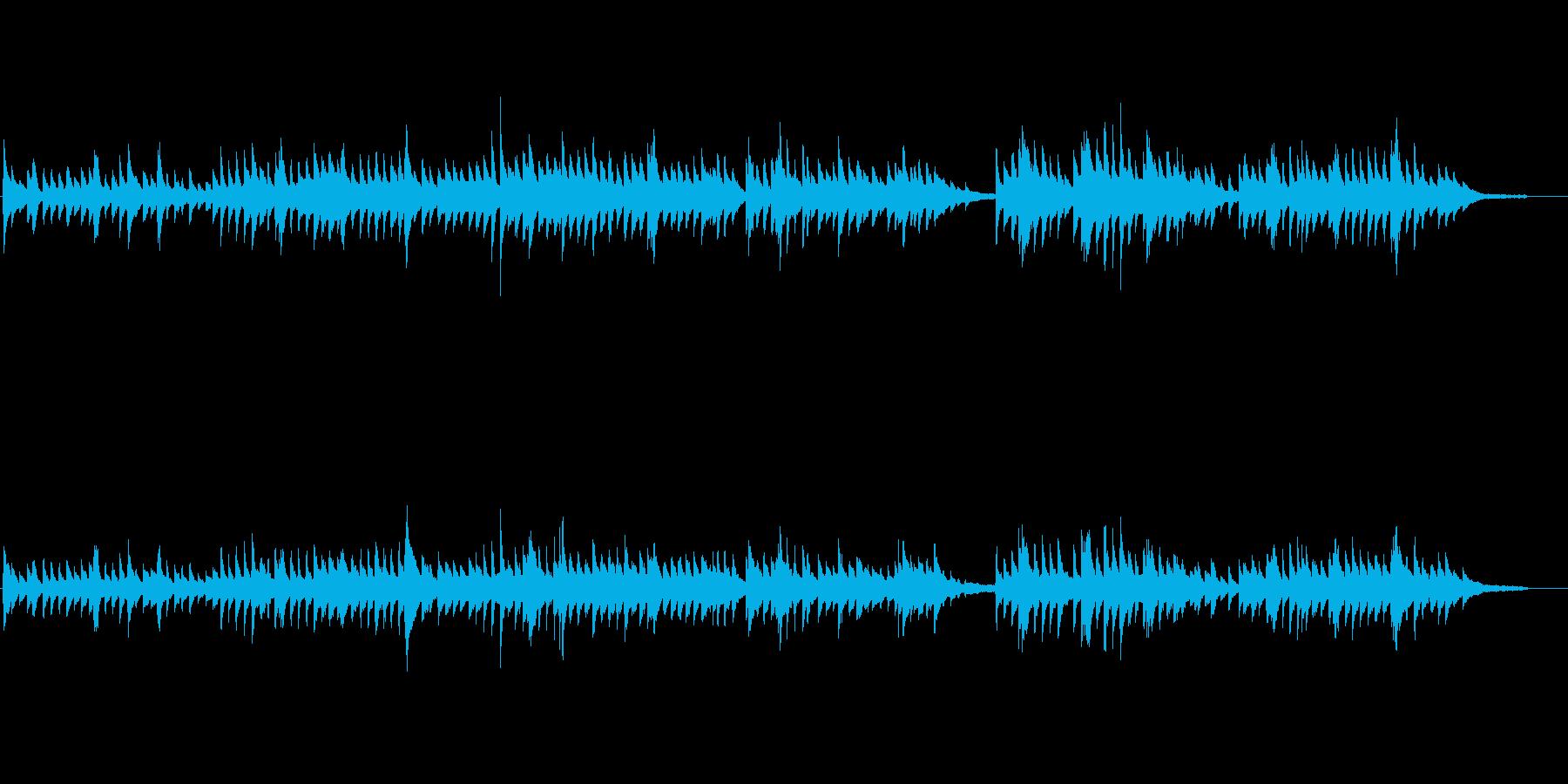 生ピアノソロ・哀愁漂う旋律の再生済みの波形