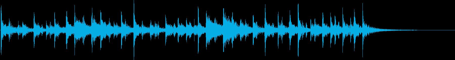 ドラム:ジャングルビート、高速の再生済みの波形