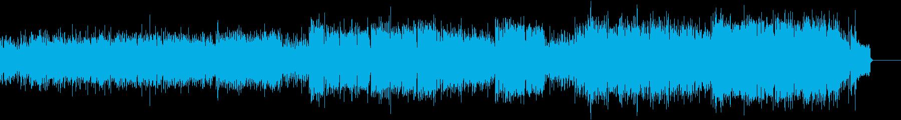 【アンデス】パンフルートの民族的な曲の再生済みの波形