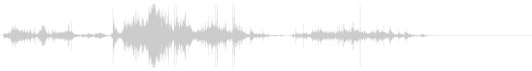 Zombie ゾンビが飛びついてくる音1の未再生の波形