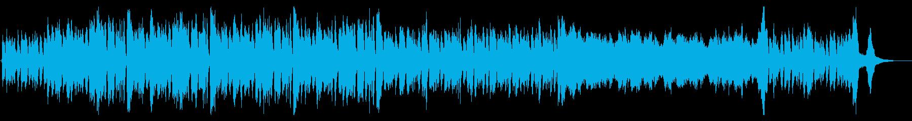 オーケストラ 重厚で緊迫した雰囲気の再生済みの波形