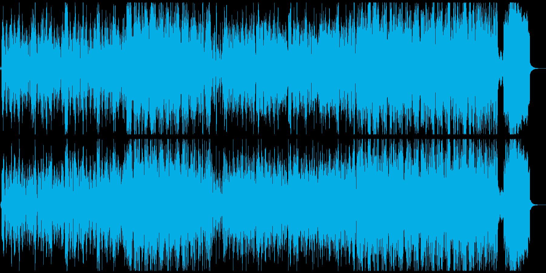和風なのにオシャレなスムースジャズの再生済みの波形