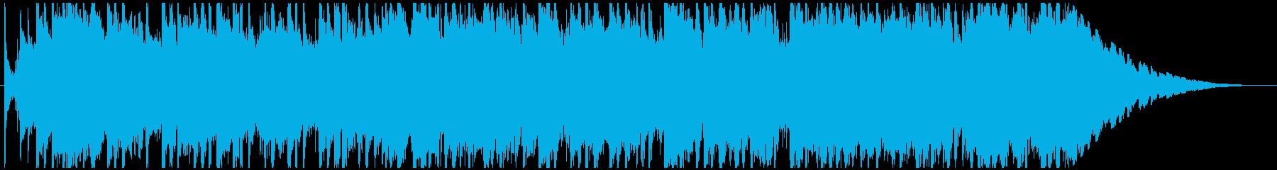 ジングル - 賑やかゴスペルの再生済みの波形