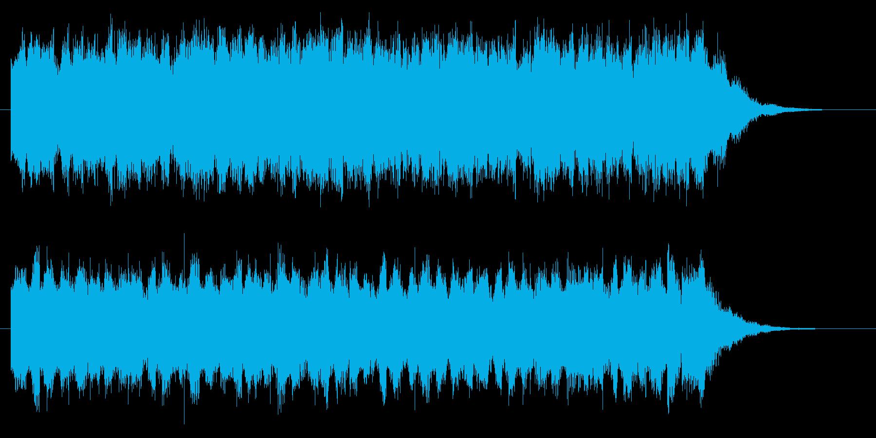 緊張感 不気味 ダーク 無機質 ホラーの再生済みの波形
