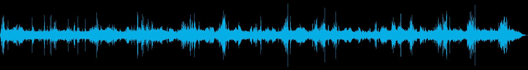[生録音]工事現場01-疑似バイノーラルの再生済みの波形