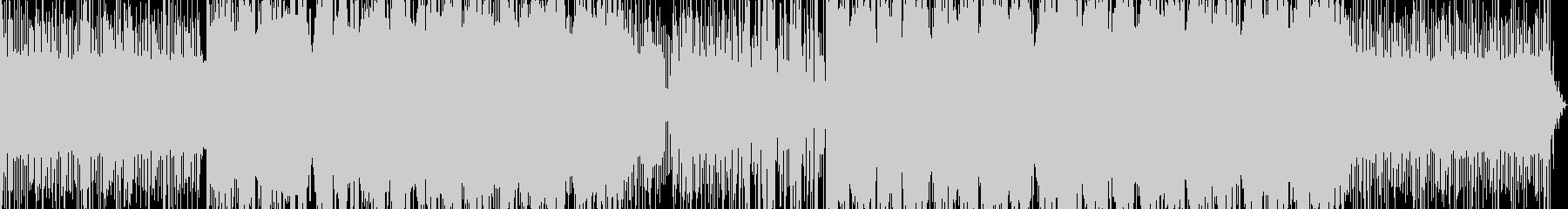 FPSゲームのロード画面BGMに合う曲の未再生の波形