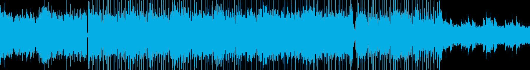 ループ仕様・トラップビート・アンビエントの再生済みの波形