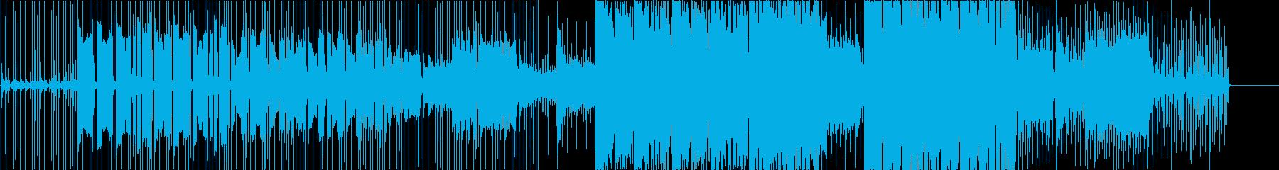 ケルト系の笛できらきらしたカーニバルの再生済みの波形