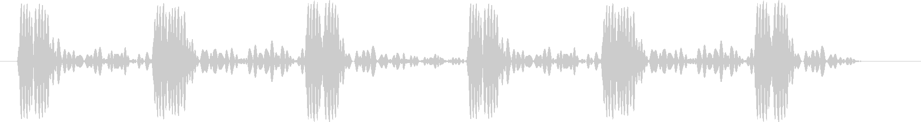 心音の未再生の波形