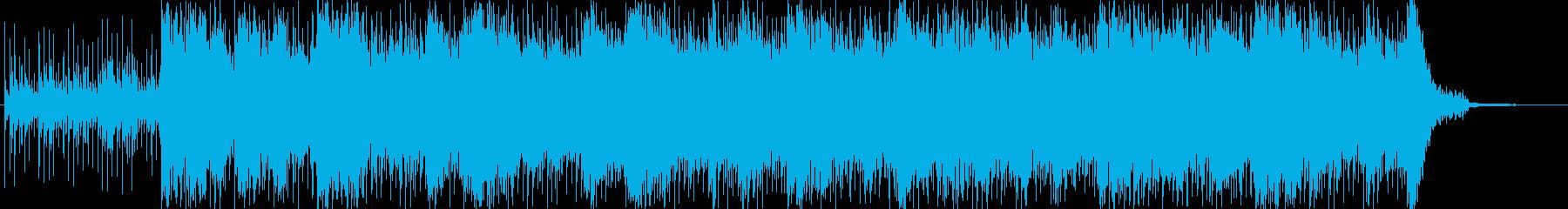 電気楽器。ロボット機械産業産業暗い危険の再生済みの波形