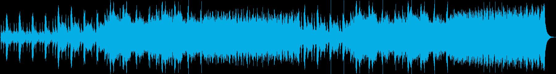 ストリングスの不穏な室内楽風プログレの再生済みの波形