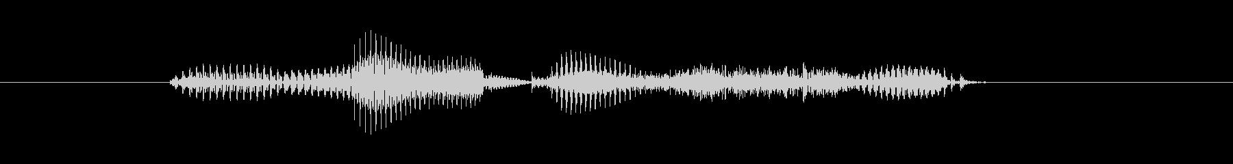 【干支】ウマ年の未再生の波形