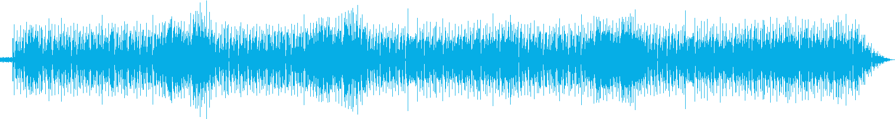 イケイケ、ちょい悪の再生済みの波形