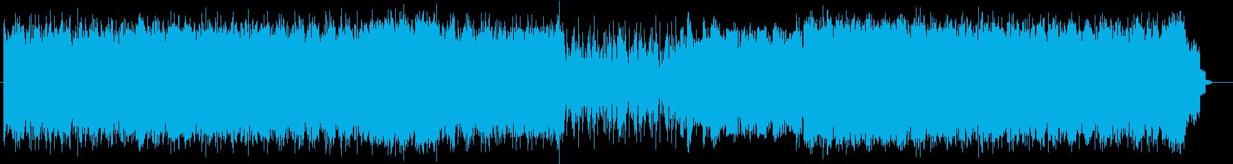 重厚感溢れるクールでハードロックサウンドの再生済みの波形