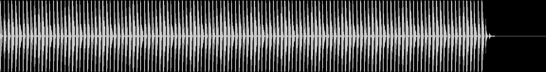 バトル(ゲーム・ドラマ電子ビート)の未再生の波形