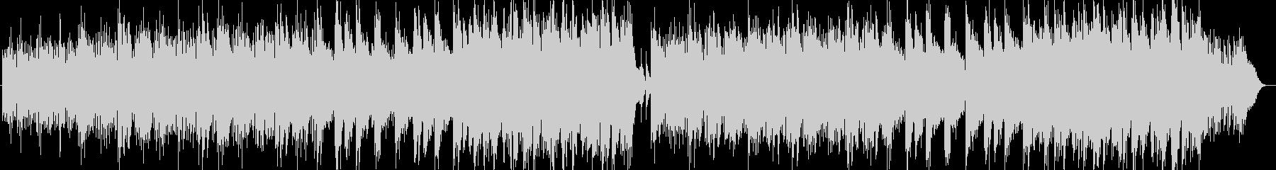 優しく美しいシンセサイザーサウンドの未再生の波形