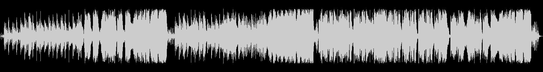 コミカルなワルツのオーケストラループの未再生の波形