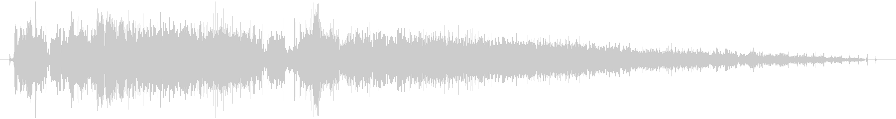 CINEMATIC BEEP 05の未再生の波形