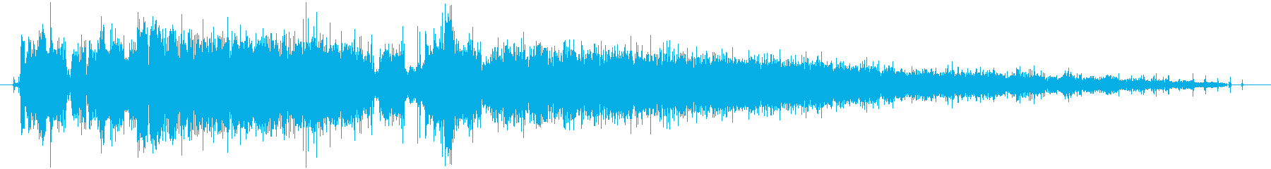 CINEMATIC BEEP 05の再生済みの波形