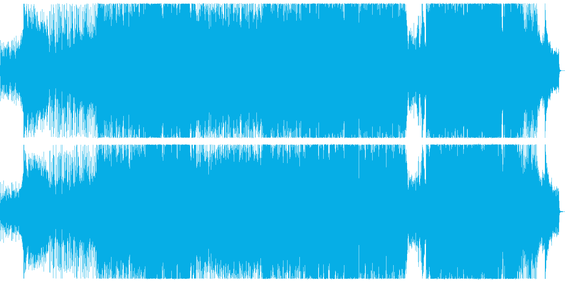 歩の再生済みの波形