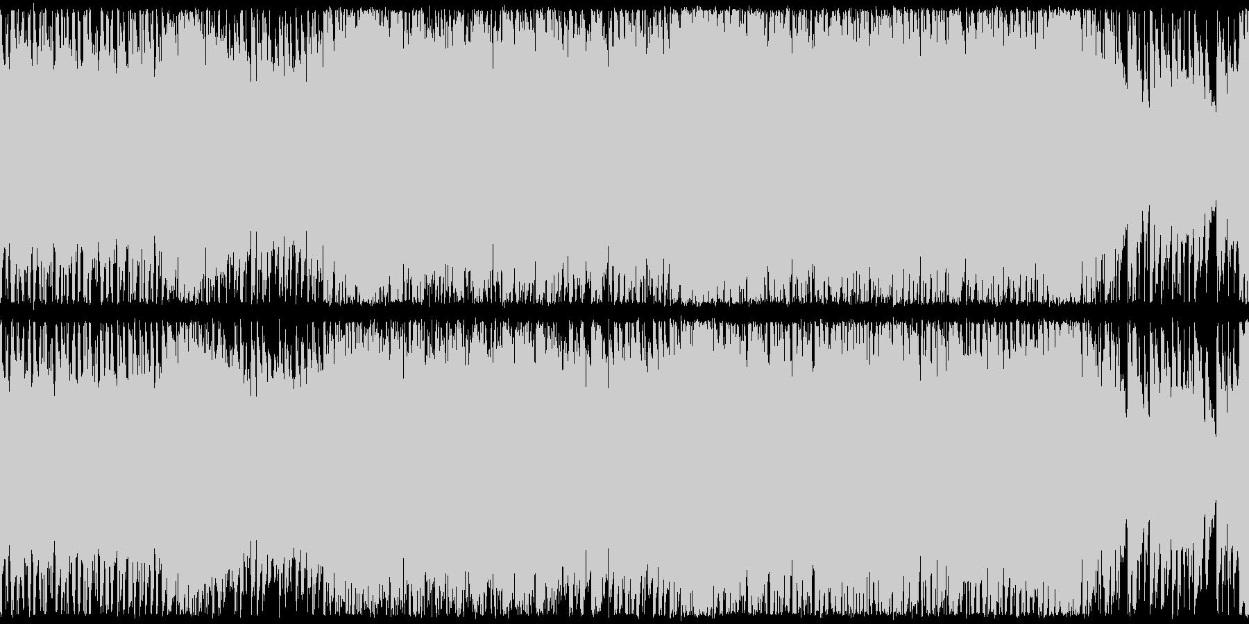 ループ,激しいRPGバトルの未再生の波形