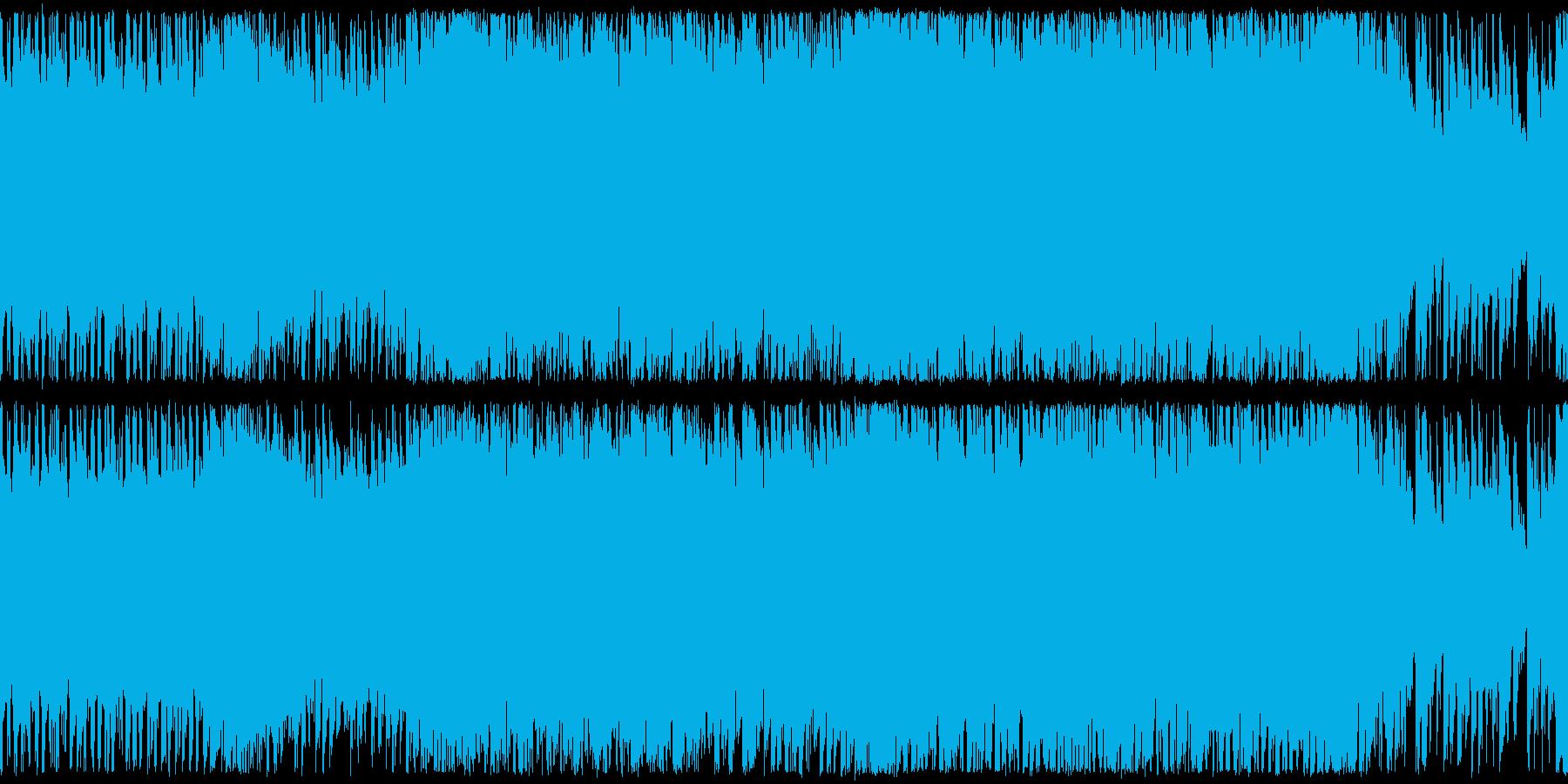 ループ,激しいRPGバトルの再生済みの波形