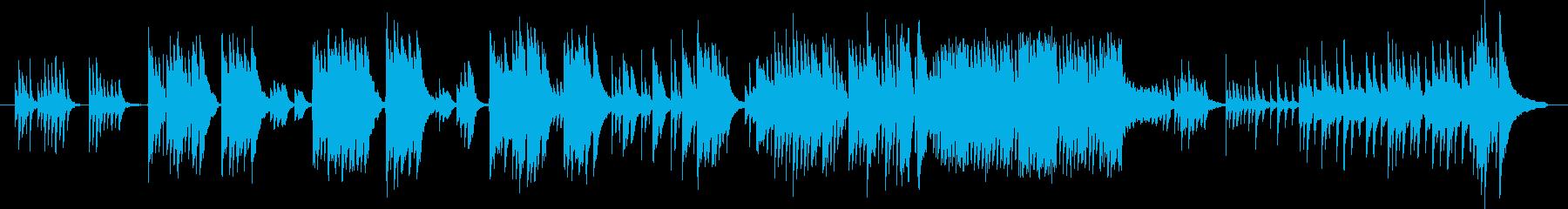 ピアノをメインにしたどこか懐かしいでも…の再生済みの波形