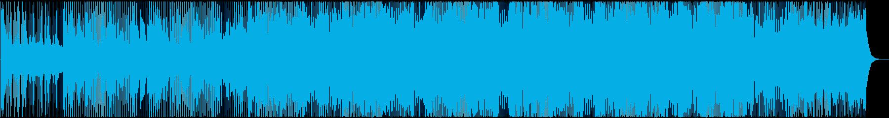 ゆったりテンポトのロピカルハウス Vo有の再生済みの波形