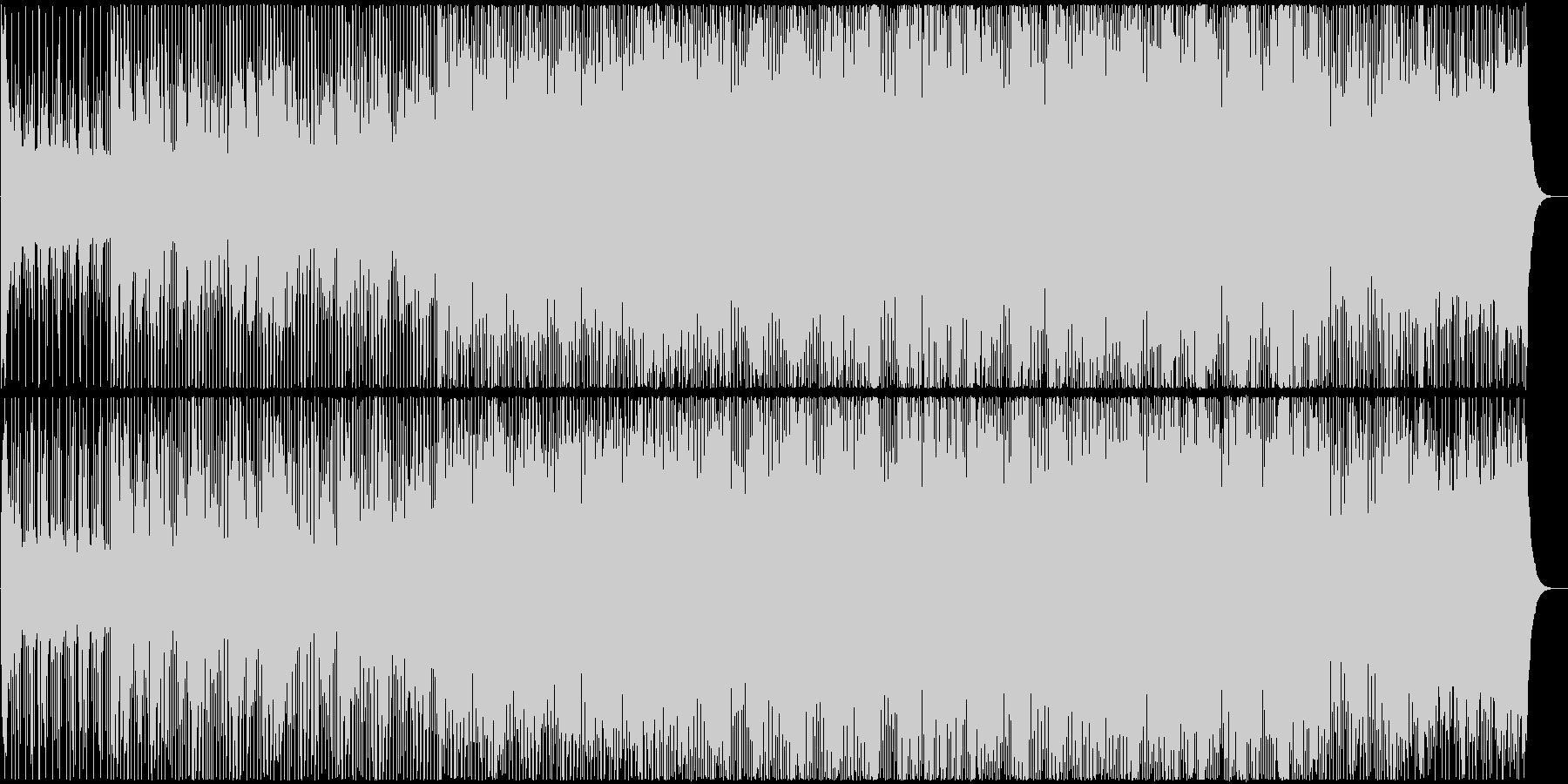 ゆったりテンポトのロピカルハウス Vo有の未再生の波形