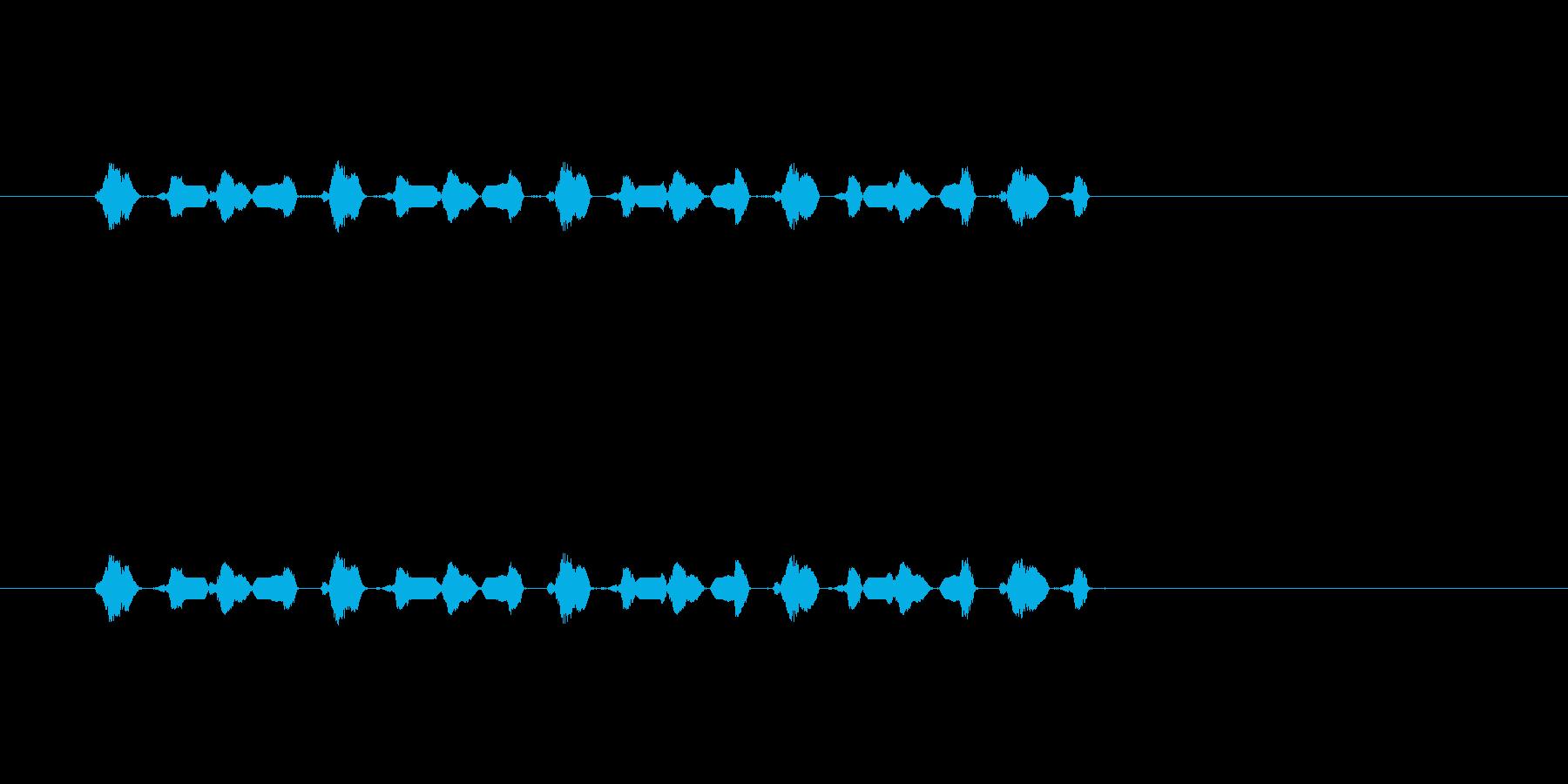 【サイバー20-2】の再生済みの波形