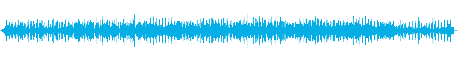 生音収録 優しく甘く夢心地の再生済みの波形