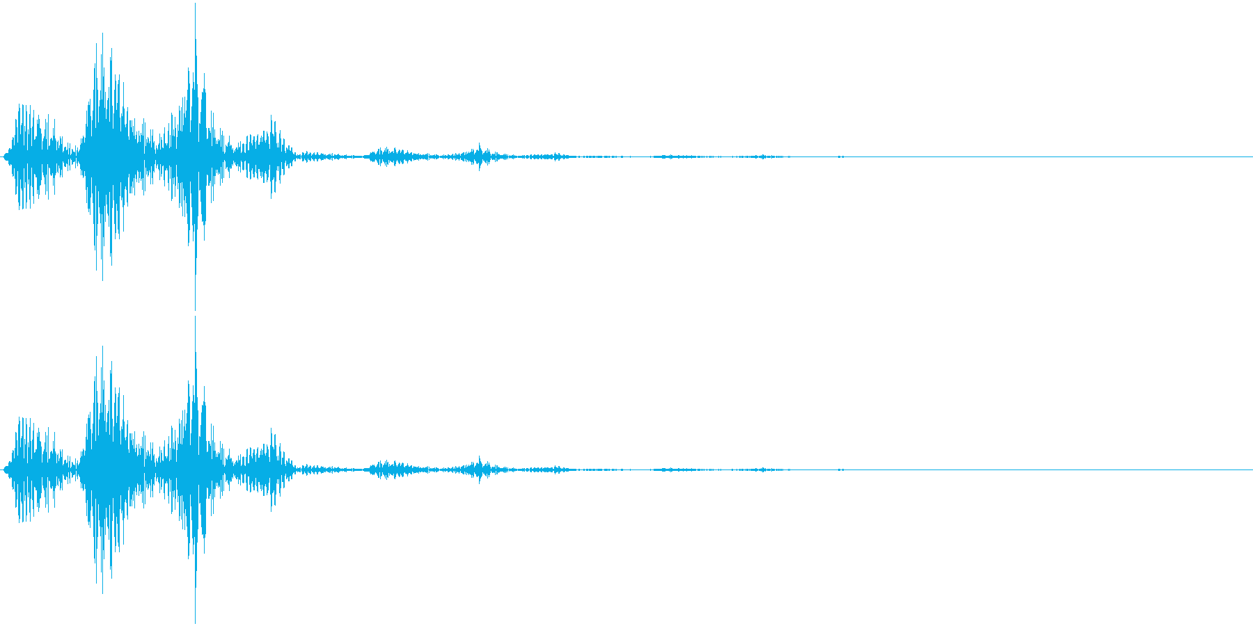 キャンセルのイメージです。の再生済みの波形