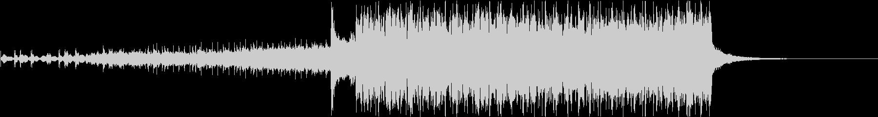 冬のセール向けBGMフューチャーベースの未再生の波形