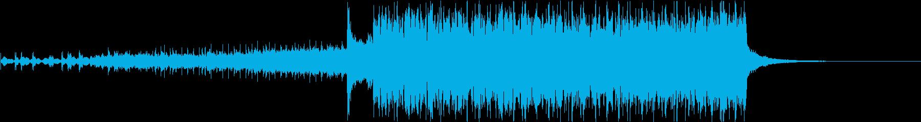 冬のセール向けBGMフューチャーベースの再生済みの波形