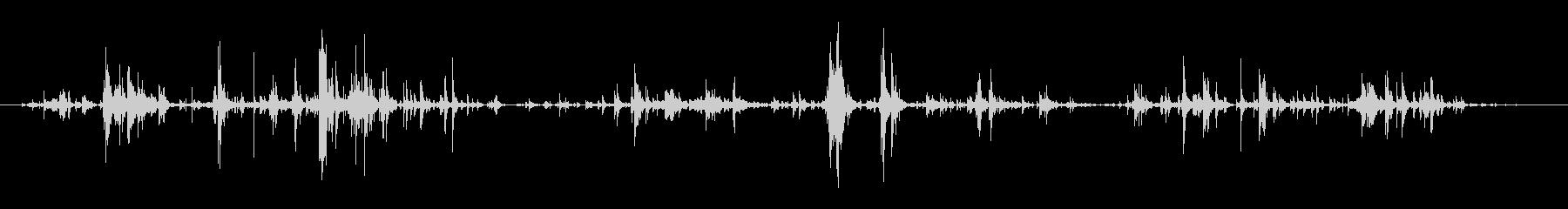 キーホルダーのチャリチャリ音7の未再生の波形