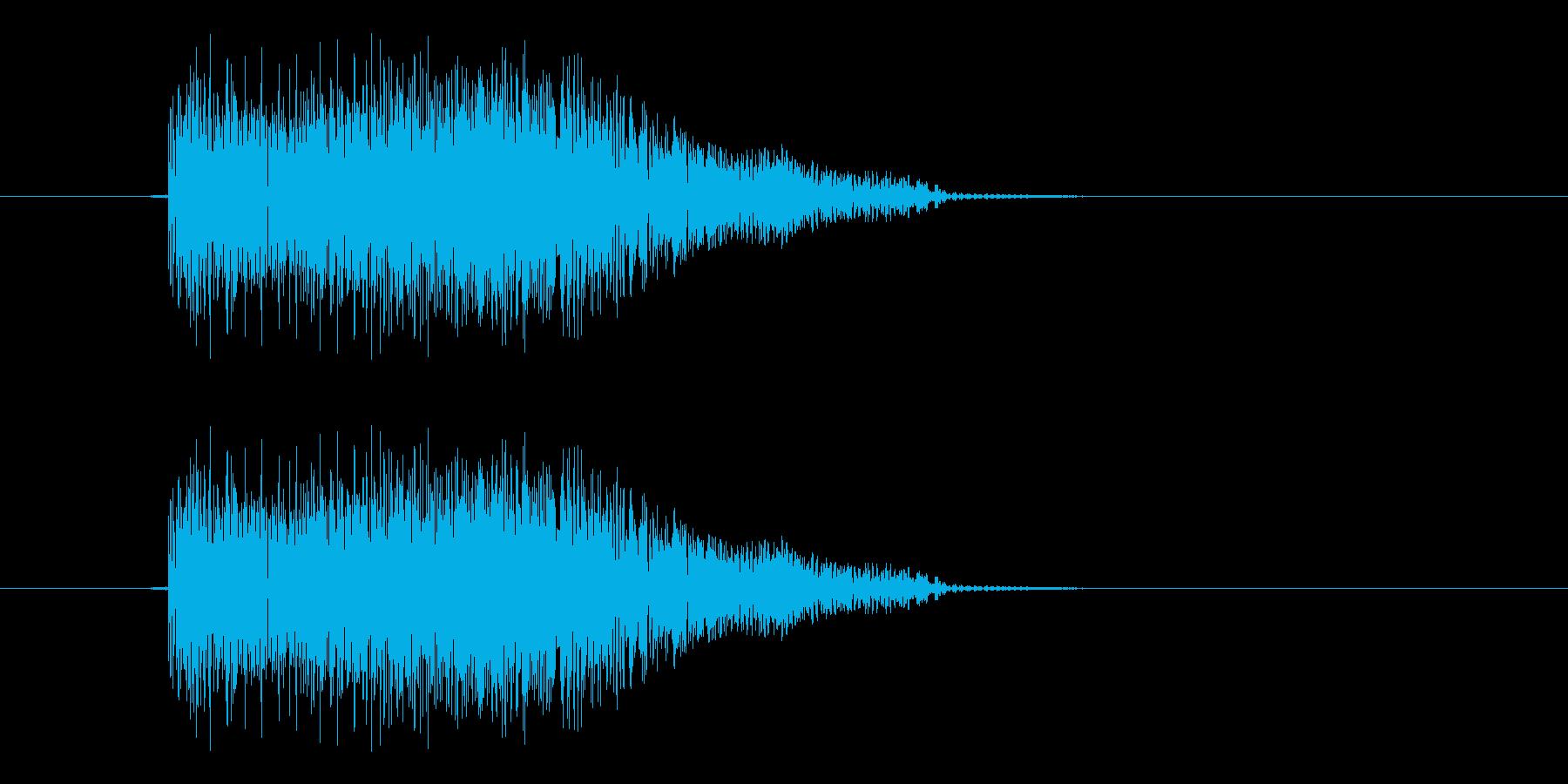 ピシュンの再生済みの波形