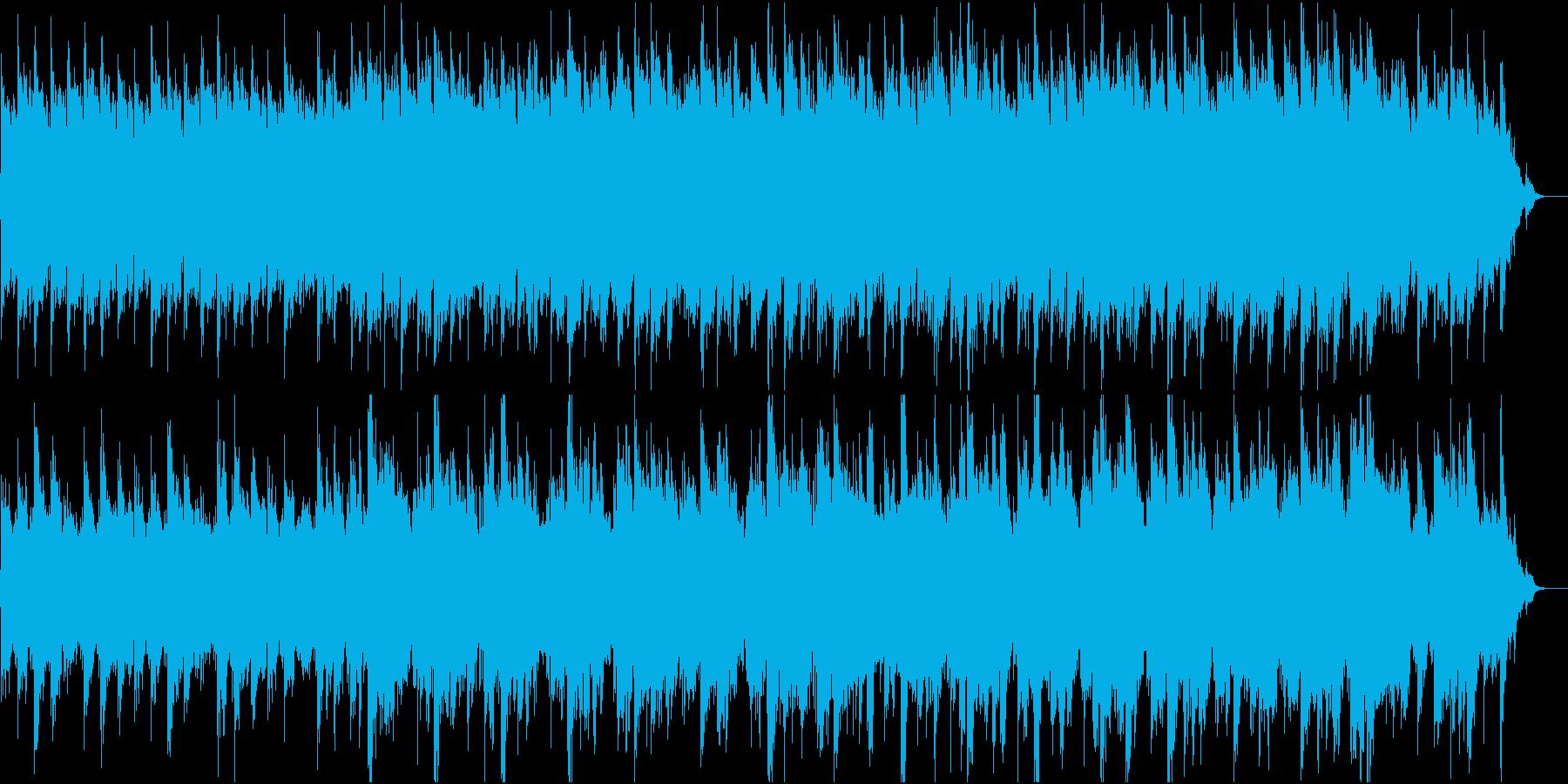 和風:日本の風情・情緒⑥高音弦と太鼓なしの再生済みの波形