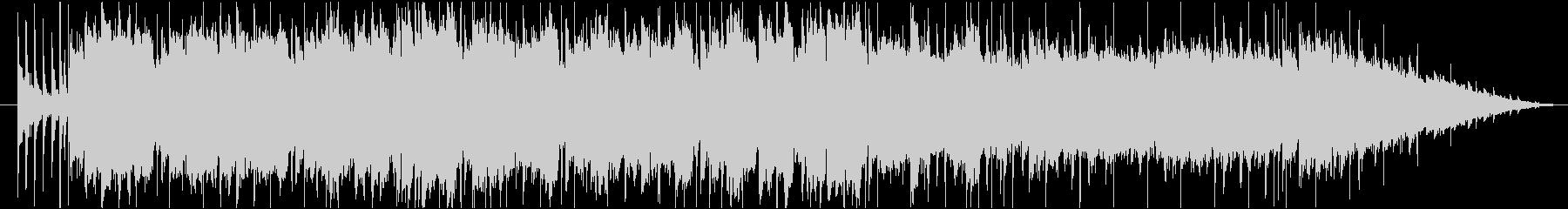 ファミリーカーCM風の楽しいBGMの未再生の波形