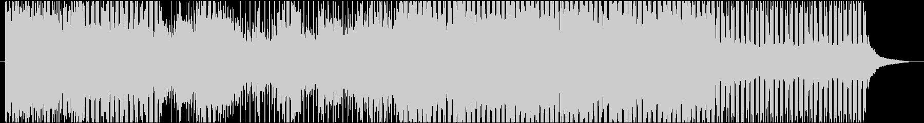 ほのぼのホッコリするポップスの未再生の波形