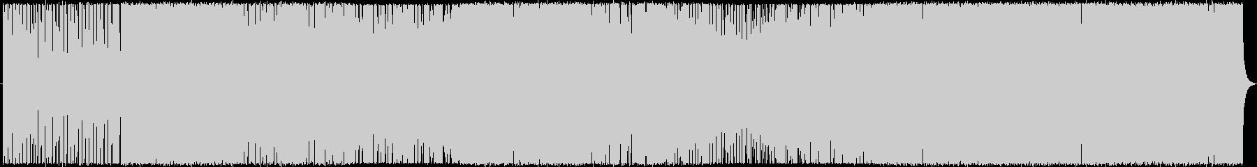 三味線主体のかっこいい和風テクノの未再生の波形