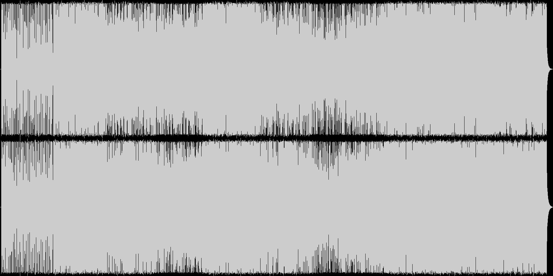 天駆の未再生の波形