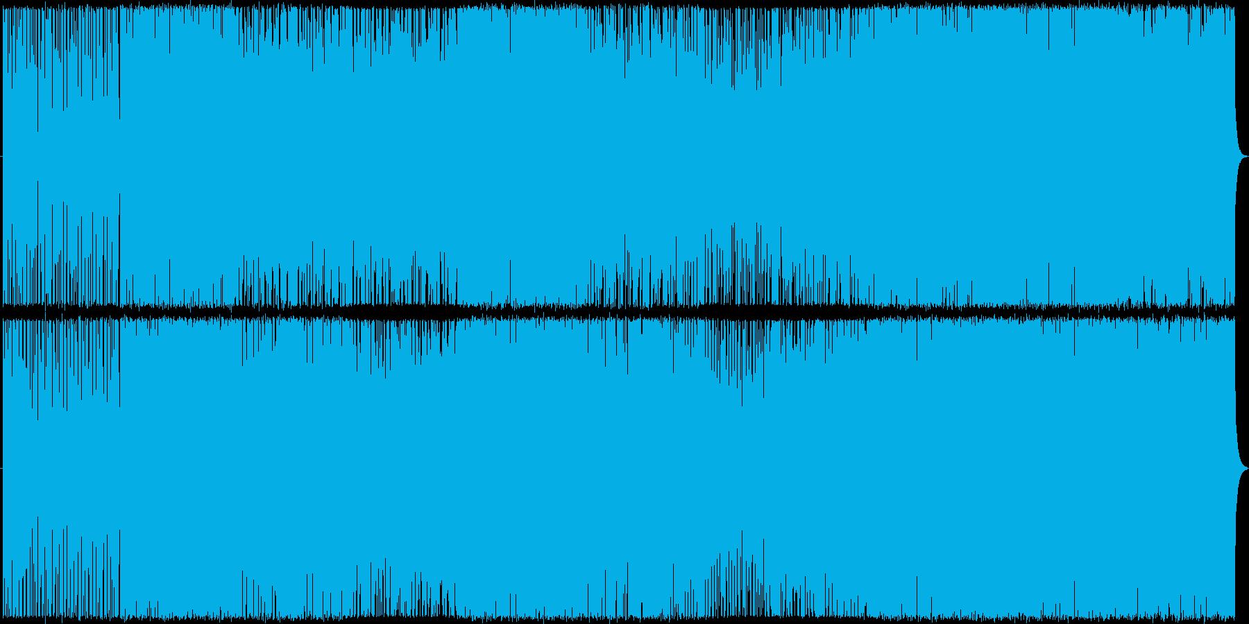 天駆の再生済みの波形