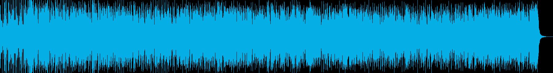 秋にお似合いのポップなボサノバの再生済みの波形