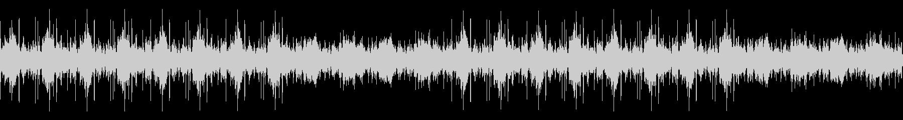 チルアウト・幻想的・神秘的・ピアノの未再生の波形