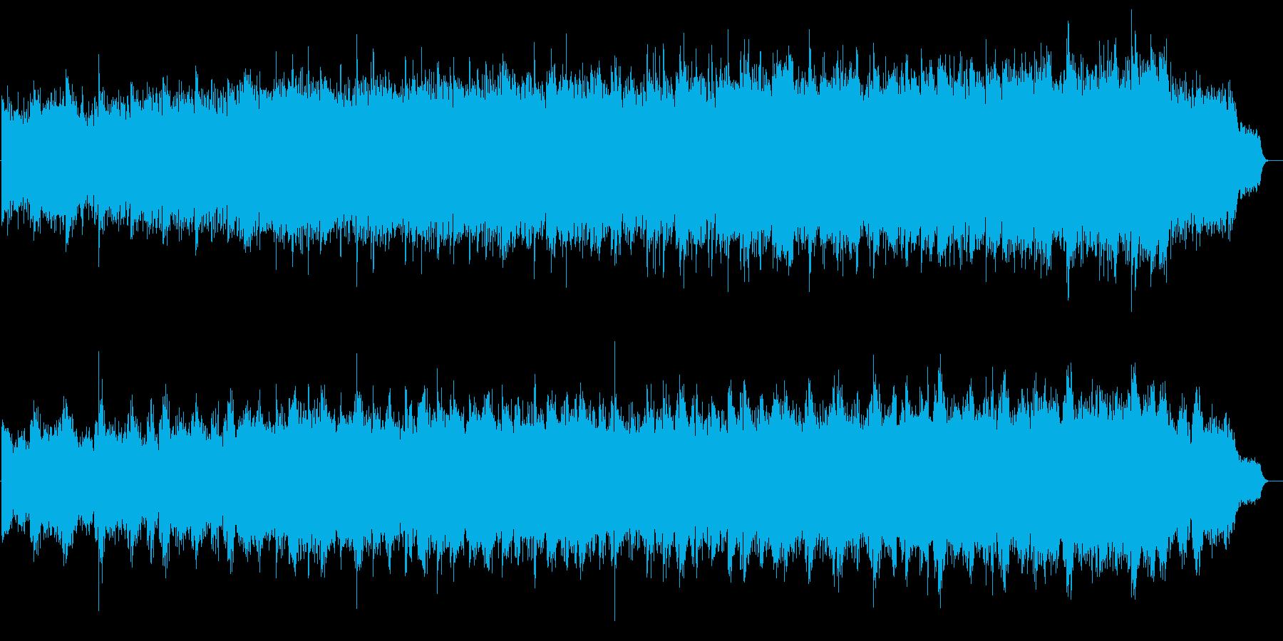 カジュアル和風ピアノ・自然・観光・空撮の再生済みの波形