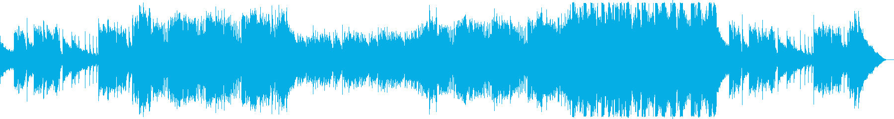 秋のCM・穏やかなアコギポップスの再生済みの波形