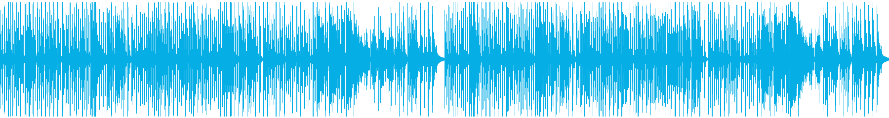 ほのぼののどかな牧場風コミカルリコーダーの再生済みの波形