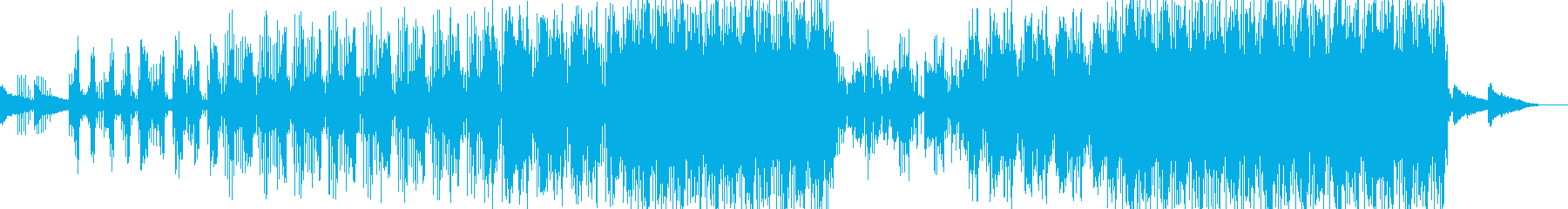 癒し系のエレクトロニカの再生済みの波形