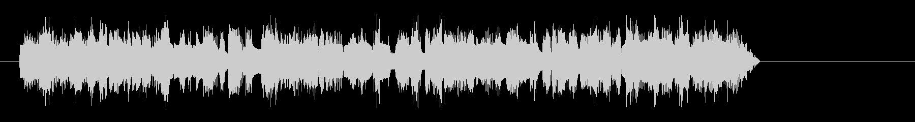トランペット-クレイジーソロの未再生の波形